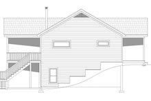 House Plan Design - Cabin Exterior - Other Elevation Plan #932-264