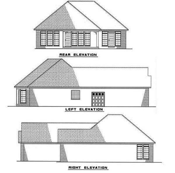 Traditional Floor Plan - Other Floor Plan Plan #17-188