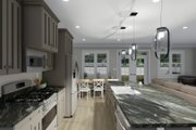 Ranch Style House Plan - 3 Beds 2 Baths 2056 Sq/Ft Plan #1060-101 Interior - Kitchen
