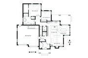 Traditional Style House Plan - 3 Beds 3 Baths 2398 Sq/Ft Plan #23-2303 Floor Plan - Main Floor Plan