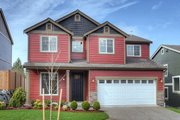 Country Style House Plan - 5 Beds 2.5 Baths 2082 Sq/Ft Plan #569-34 Exterior - Front Elevation