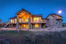 Dream House Plan - Ranch Exterior - Rear Elevation Plan #895-29