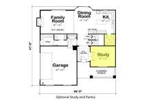 Traditional Floor Plan - Main Floor Plan Plan #20-2180