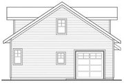 Craftsman Style House Plan - 0 Beds 1 Baths 501 Sq/Ft Plan #124-660 Exterior - Rear Elevation