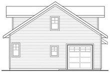 Craftsman Exterior - Rear Elevation Plan #124-660