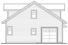 Dream House Plan - Craftsman Exterior - Rear Elevation Plan #124-660