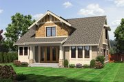 Craftsman Style House Plan - 3 Beds 2.5 Baths 1884 Sq/Ft Plan #132-209 Exterior - Rear Elevation