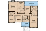 Traditional Style House Plan - 3 Beds 2 Baths 2035 Sq/Ft Plan #923-26 Floor Plan - Main Floor