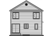 Dream House Plan - Traditional Exterior - Rear Elevation Plan #23-476