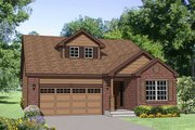 Traditional Style House Plan - 3 Beds 2.5 Baths 1756 Sq/Ft Plan #116-256 Exterior - Front Elevation