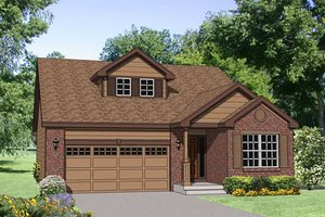 Traditional Exterior - Front Elevation Plan #116-256