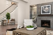 Contemporary Style House Plan - 5 Beds 4.5 Baths 4039 Sq/Ft Plan #1066-14 Interior - Family Room