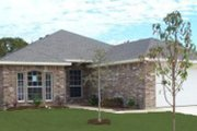 Traditional Style House Plan - 4 Beds 2 Baths 1717 Sq/Ft Plan #84-333 Exterior - Front Elevation