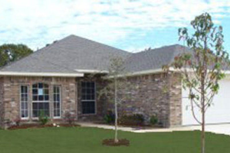 Traditional Style House Plan - 4 Beds 2 Baths 1717 Sq/Ft Plan #84-333