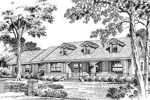 Traditional Exterior - Front Elevation Plan #417-209