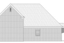 Southern Exterior - Rear Elevation Plan #932-78