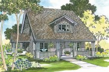 Home Plan - Craftsman Exterior - Front Elevation Plan #124-204