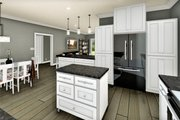 Traditional Style House Plan - 3 Beds 2 Baths 1611 Sq/Ft Plan #44-236 Interior - Kitchen