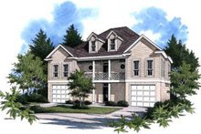 House Design - Traditional Exterior - Front Elevation Plan #37-116