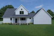 Farmhouse Style House Plan - 3 Beds 2.5 Baths 2090 Sq/Ft Plan #1070-69 Exterior - Rear Elevation