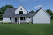 House Design - Farmhouse Exterior - Rear Elevation Plan #1070-69
