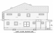 Architectural House Design - Traditional Exterior - Other Elevation Plan #20-2465