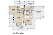 Farmhouse Style House Plan - 3 Beds 2.5 Baths 2214 Sq/Ft Plan #120-261 Floor Plan - Main Floor Plan