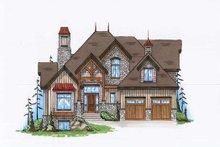 Craftsman Exterior - Front Elevation Plan #5-378