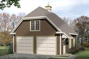 Farmhouse Exterior - Front Elevation Plan #22-427