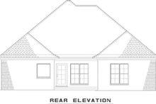 Dream House Plan - European Exterior - Rear Elevation Plan #17-2540