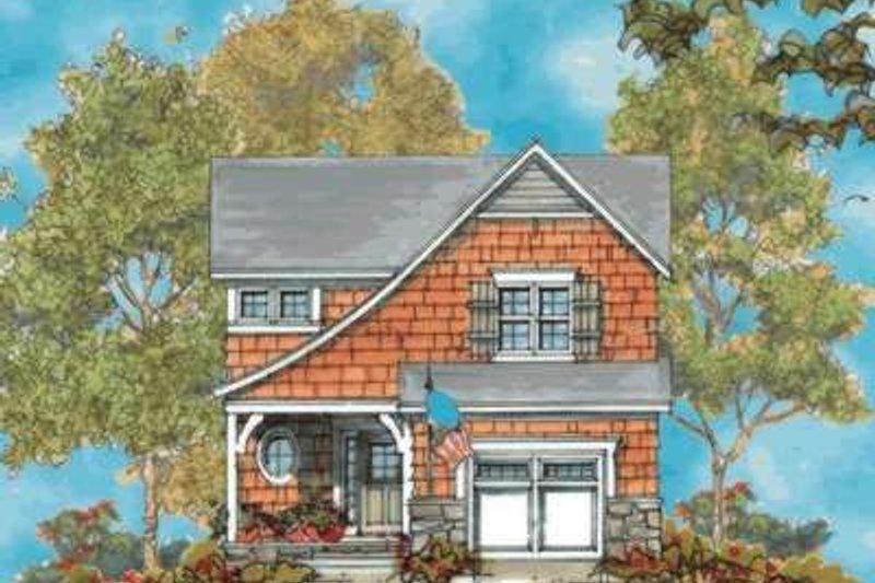 Dream House Plan - Bungalow Exterior - Front Elevation Plan #20-1739