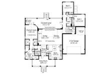Cottage Floor Plan - Main Floor Plan Plan #938-87