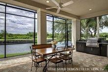 Architectural House Design - European Exterior - Outdoor Living Plan #930-486