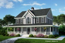 Farmhouse Exterior - Front Elevation Plan #929-167