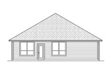 Dream House Plan - Traditional Exterior - Rear Elevation Plan #84-474