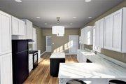 Craftsman Style House Plan - 3 Beds 2 Baths 1587 Sq/Ft Plan #44-234 Interior - Kitchen
