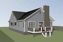 Farmhouse Exterior - Rear Elevation Plan #79-232