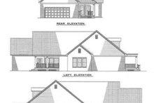 House Plan Design - Southern Exterior - Rear Elevation Plan #17-1011