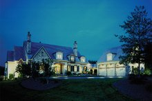 Home Plan - European Exterior - Front Elevation Plan #453-47