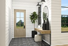 Farmhouse Interior - Entry Plan #23-2729