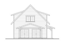 Architectural House Design - Cottage Exterior - Other Elevation Plan #124-1223