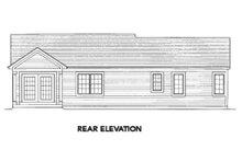 Dream House Plan - Exterior - Rear Elevation Plan #46-462