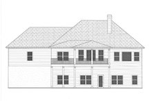 Home Plan - Rear Elevation