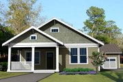 Craftsman Style House Plan - 3 Beds 2 Baths 1667 Sq/Ft Plan #461-27 Exterior - Front Elevation