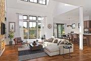 Farmhouse Style House Plan - 3 Beds 2.5 Baths 2490 Sq/Ft Plan #48-940 Interior - Family Room