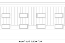 House Plan Design - Contemporary Exterior - Other Elevation Plan #932-284