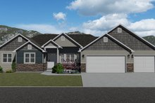 Home Plan - Farmhouse Exterior - Front Elevation Plan #1060-47