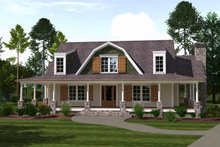 House Plan Design - Country Exterior - Front Elevation Plan #1071-10