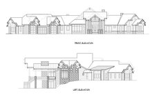 Classical Exterior - Other Elevation Plan #1066-86