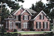 Traditional Style House Plan - 4 Beds 3 Baths 2286 Sq/Ft Plan #927-10 Exterior - Front Elevation